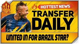 United In For Everton Soares? Man Utd Transfer News