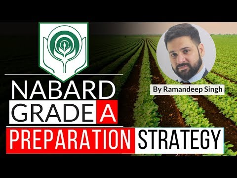 NABARD Grade A Preparation Plan