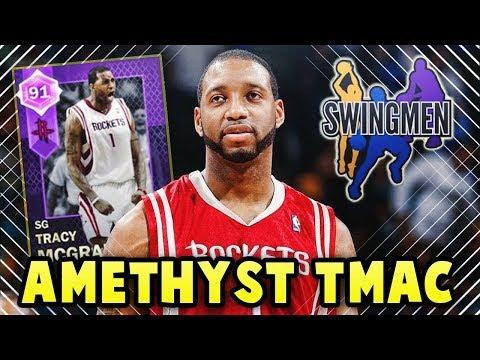 NBA 2K18 MyTEAM PULLABLE AMETHYST TMAC!! |  MyTEAM NEW SWINGMEN PLAYERS COMING!!