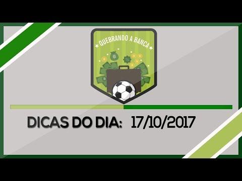 QUEBRANDO A BANCA: Dicas do dia 17/10/2017...