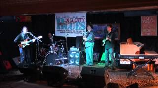 Billy Pierce plays at The Big City Rhythm and Blues Magazine Happy to Have the Blues Party.