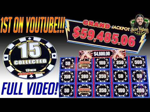 🎰 1st On YouTube 💰 HIGH LIMIT LIGHTNING LINK GRAND JACKPOT LIVE 💪