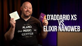 New D'Addario XS vs. Elixir Nanoweb | Coated Acoustic Guitar String Comparison