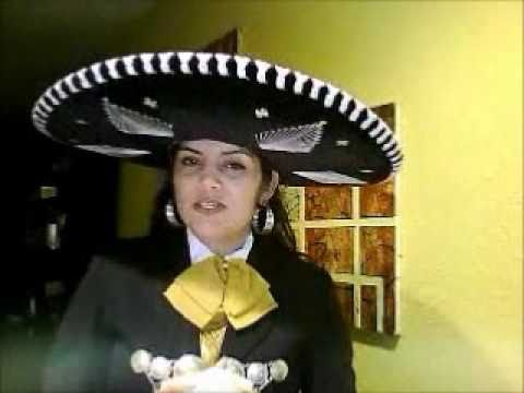 6d0749f89 trajes de mariachi by suzy avila - YouTube