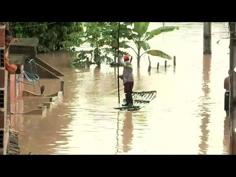 50,000 displaced in deadly Brazil floods: authorities