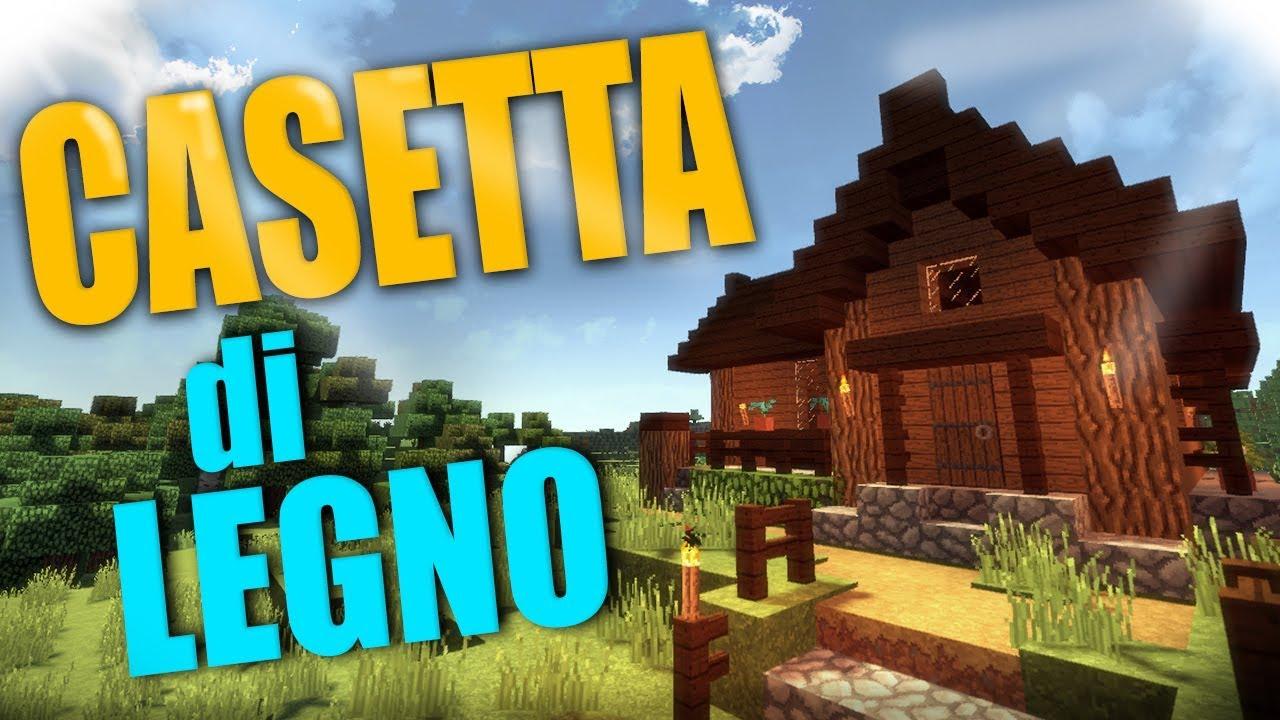 Casetta Moderna Con Piscina Minecraft Building Youtube