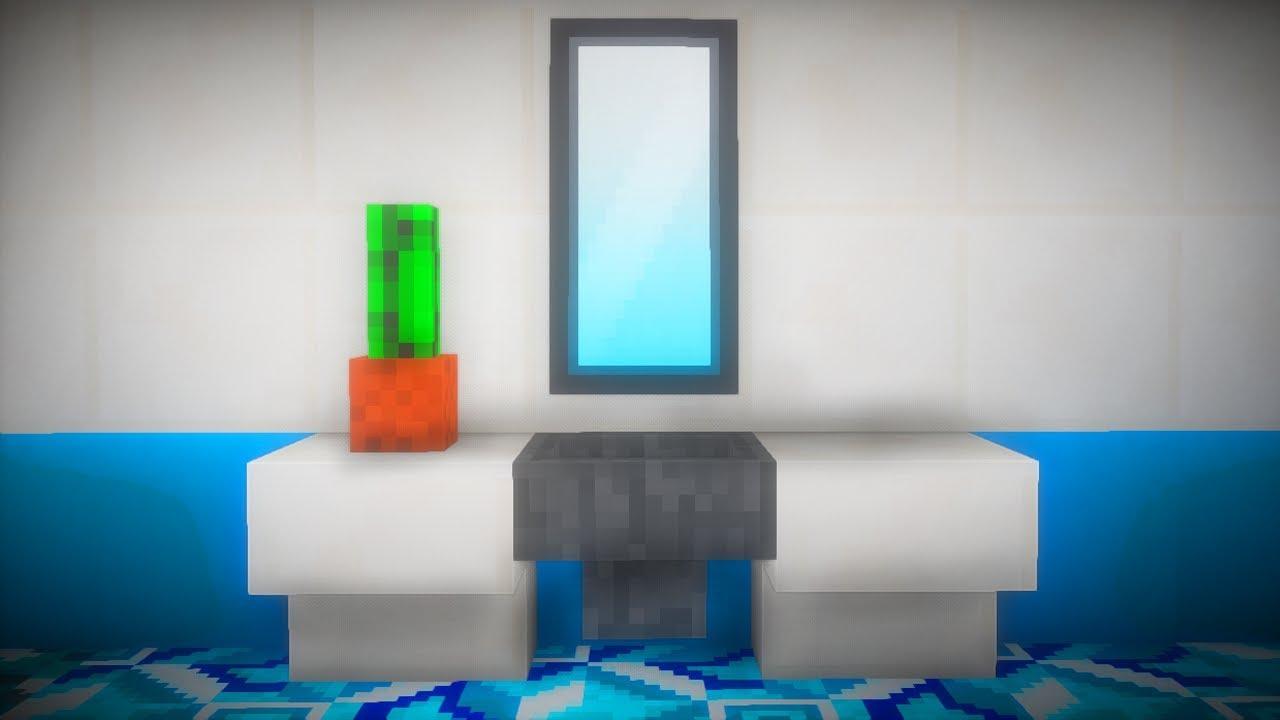 Jak Zbudować łazienkę W Minecraft
