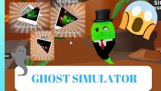 Ghost Simulator Dinosaur Land Last Quest Photo Pieces Locations / Roblox / Koala Panda