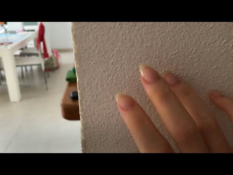 [ASMR] Tapping Around in a Big Apartment