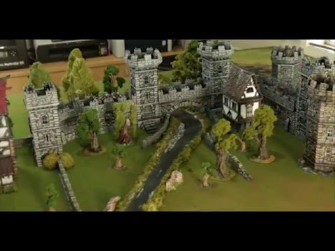 WINTERDALE: Medieval Fantasy Citadel Collection for 28mm - YouTube