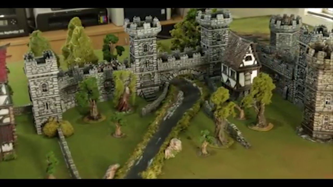 WINTERDALE: Medieval Fantasy Citadel Collection for 28mm