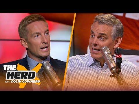 Joel Klatt discusses Notre Dame greatness under Brian Kelly, talks Baker Mayfield | CFB | THE HERD
