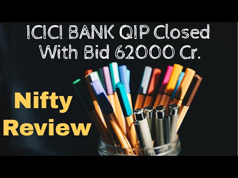 Nifty Trend Review   ICICI BANK SHARE NEWS   ICICI BANK QIP Closed With 62000 Crore Bid