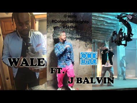 J Balvin ft Wale - Colombia Heights (Behind the Scenes) (Te Llamo) | Shine Album