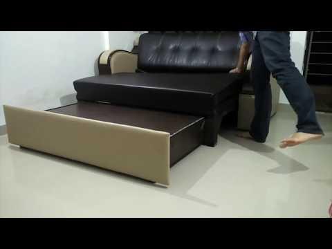 Triple folding Sofa