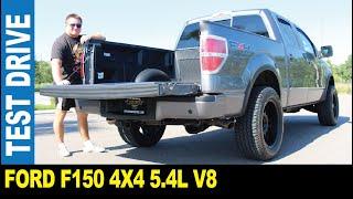 2010 Ford F150 4X4 5.4L V8 pickup truck custom wheels dual exhuast   Jarek in Clearwater Florida USA