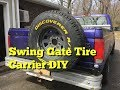 DIY Swing Out Tire Carrier F150 - Part 1