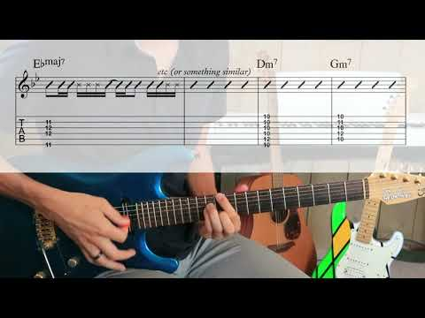 Barry White - Let The Music Play [TABS In Video Guitar Cover]