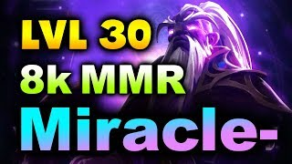 Miracle- Void Spirit - Imba Gameplay! LVL 30 - 8000+ MMR - 7.23 DOTA 2