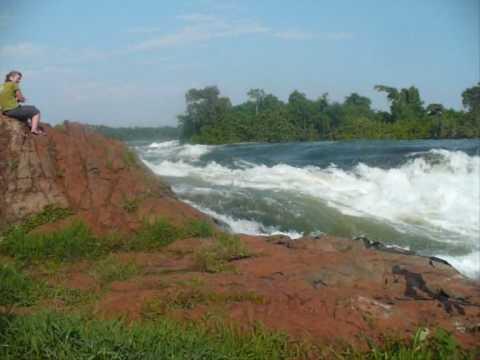 Uganda - Bujagali Falls near Jinja
