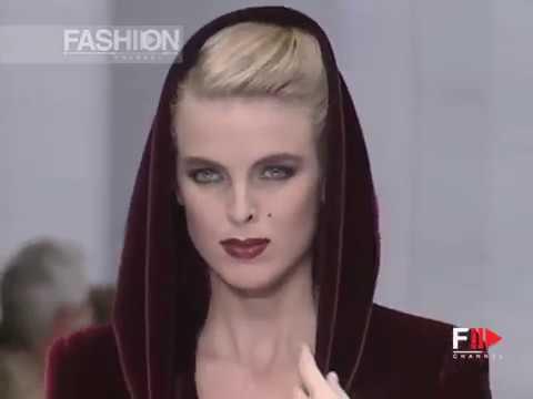 PAOLA MARZOTTO Fall 1991/1992 Haute Couture Rome - Fashion Channel