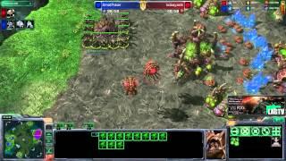 Cover images SmotPoker (T) vs Kobayashi (Z) -- Starcraft 2 [LAGTV]