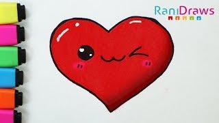 Dibujo de corazon de amor