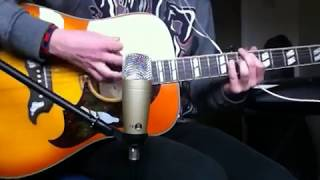 Gambar cover The Front Bottoms - Be Nice To Me (Rose EP Version) Acoustic Guitar Cover