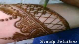 Mehndi Design 4 - Bridal Mehndi Design For Full Hand | Simple Mehndi Tatoo For Hands