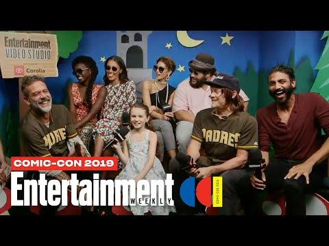 'The Walking Dead' Stars Norman Reedus, Danai Gurira & Cast LIVE | SDCC 2019 | Entertainment Weekly