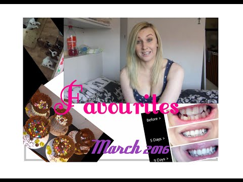 Monthly Favourites // March 2016 ♥