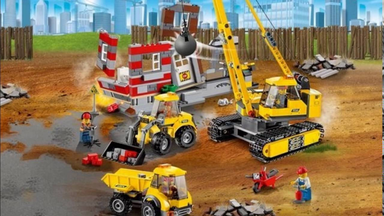 LEGO City 60076: Demolition Site/Снос старого здания - YouTube