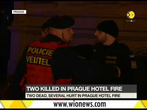 Prague: 2 killed, several injured in fire at hotel