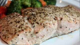 Baked Lemon Pepper Salmon Recipe - How To Bake Salmon