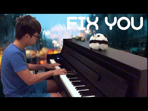 Coldplay - Fix You | Piano Cover with Duet Parts | [Sheets in Description]