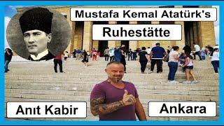 Grabstätte Mustafa Kemal Atatürk in Ankara