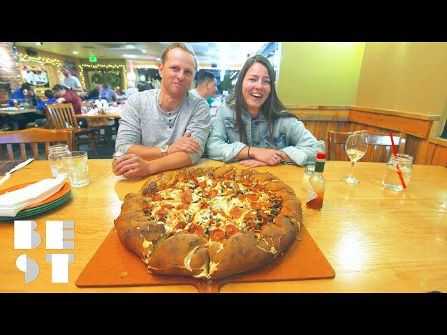 The Beau Jos 14 Pound Pizza Challenge | Best Products