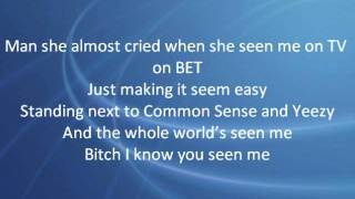 Big Sean - So Much More (Lyrics on Screen) NEW 2011