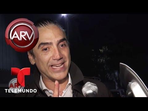 Alejandro Fernández dio entrevista al parecer con tragos | Al Rojo Vivo | Telemundo