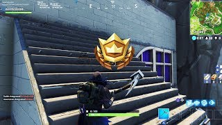 """""""Follow the treasure map found in Greasy Grove"""" EXACT Location Fortnite LEAKED Week 5 Challenges!"""