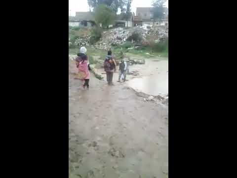 بالفيديو :  تلاميذ  معرضون للخطر ببلدية الشلف