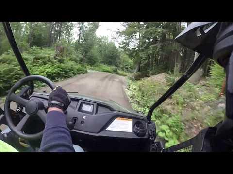 Honda pioneer 500 trail ride + top speed