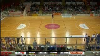 PLAYOFF SERIE B - Tramarossa Vicenza - Solbat Basket Golfo Piombino