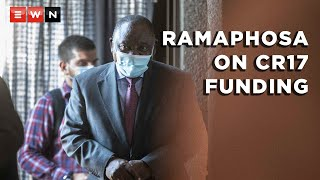 ANC president Cyril Ramaphosa responded to questions about his CR17 campaign and how it was funded when he spent a second day on the witness stand at the commission of inquiry into state capture on 29 April 2021.