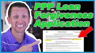 In this video i'm talking about the ppp loan forgiveness application. new application for is both at sba.gov and treasury.gov websi...