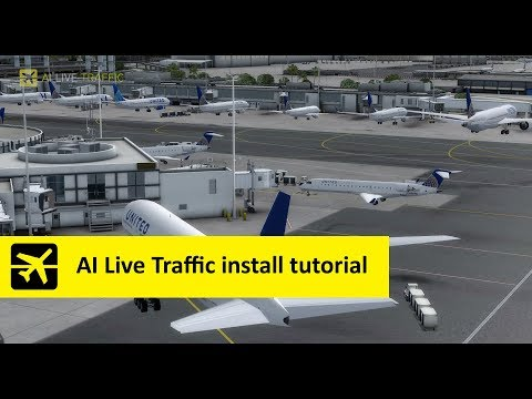 AI Live Traffic installation tutorial for Prepar3d and FSX