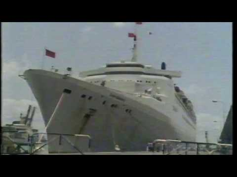 Whicker's World. A fast boat to China on QE2. Ep 3 Port Moresby to Pattaya