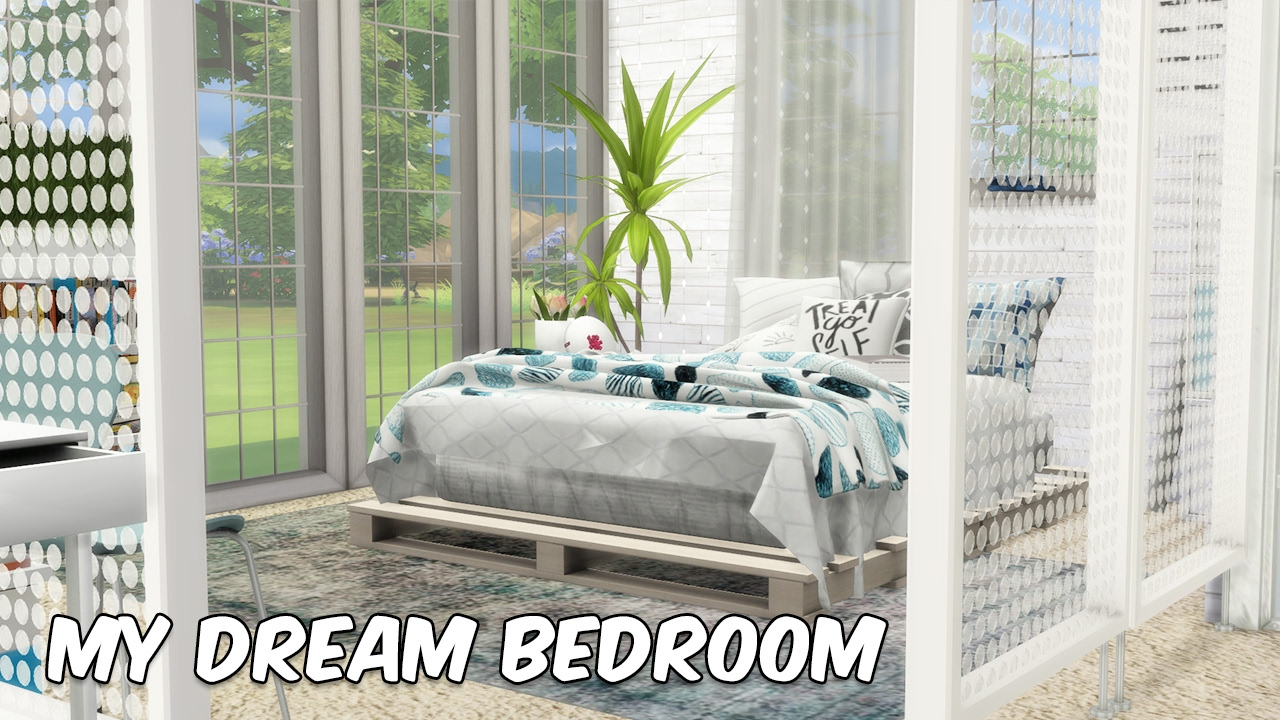 sims 4 speed build let s decorate my dream bedroom