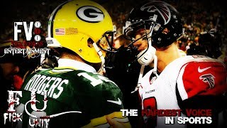 My LAST Falcons rant + Rodgers is still a clown who cares he beat ATL