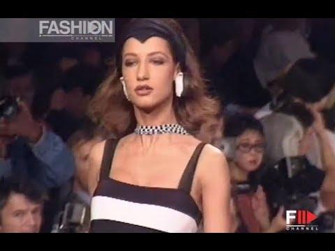 KARL LAGERFELD Spring Summer 1991 Paris - Fashion Channel